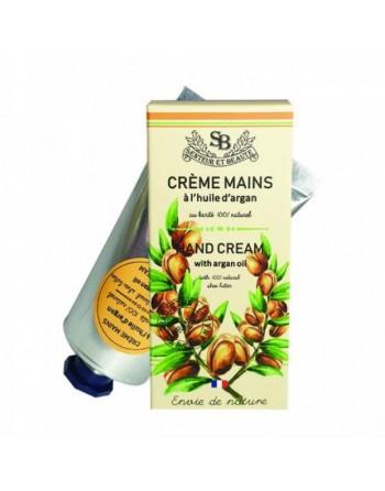 Crème mains huile d'argan...