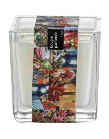 Bougie parfumée 200 g - Mandarine & Rose - Amélie & Mélanie